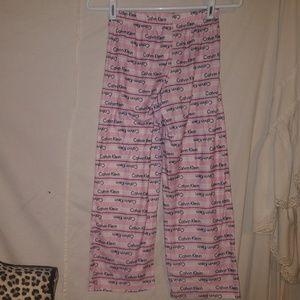 Calvin Klein kids sleep pants size 8/10
